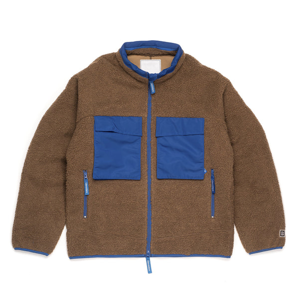 Pile Fleece Jacket - Beige