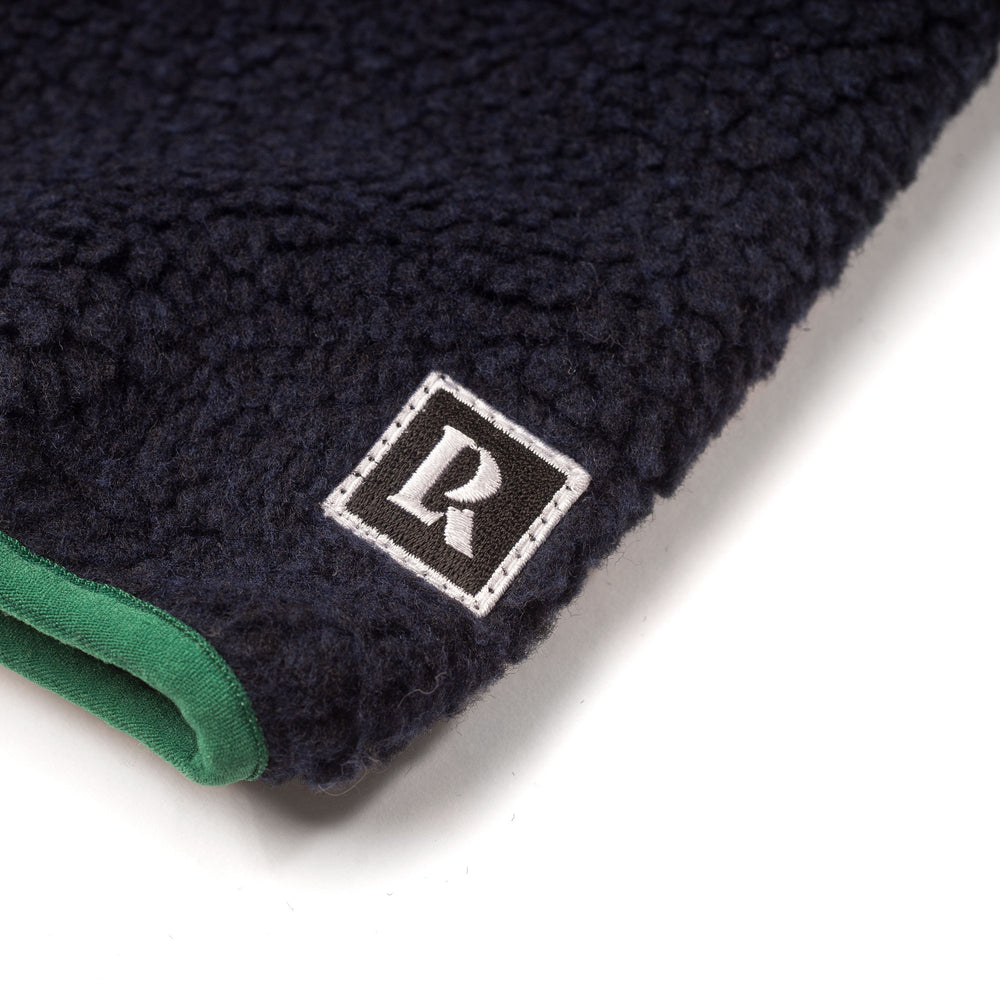 Pile Fleece Jacket - Navy