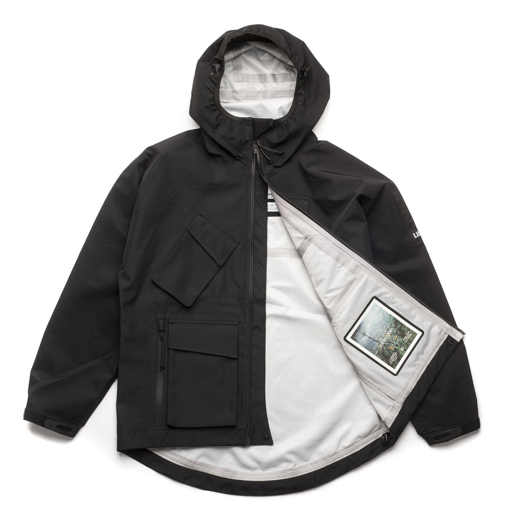 Sherpa 3 Layer Jacket - Black
