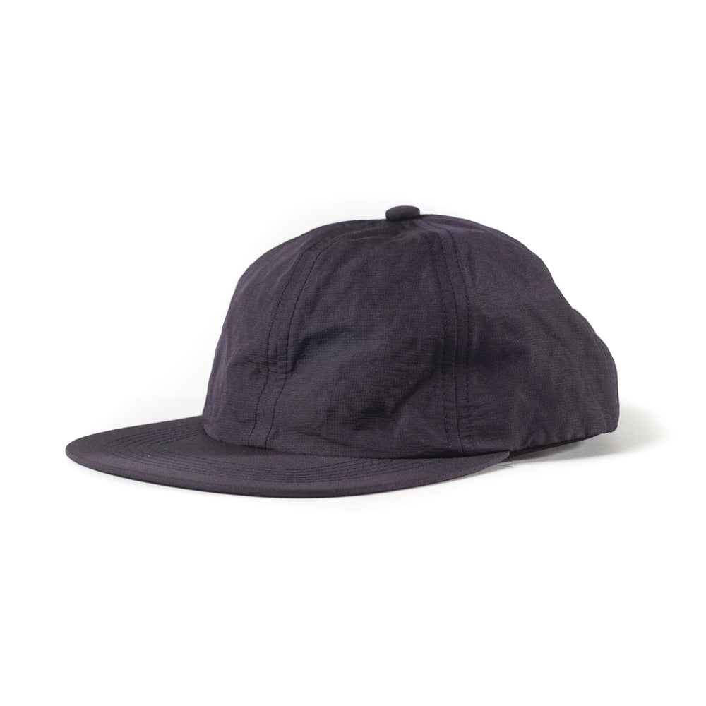 Metallic Nylon Cap - Purple