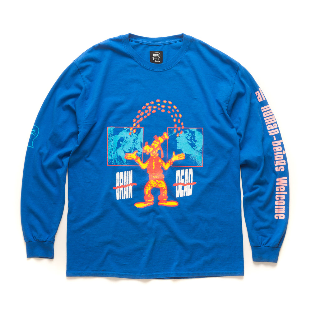 Human Being Long Sleeve - Royal Blue