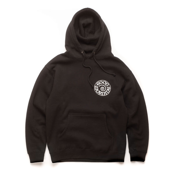 Fergadelic Fleece Hood Pullover - Black