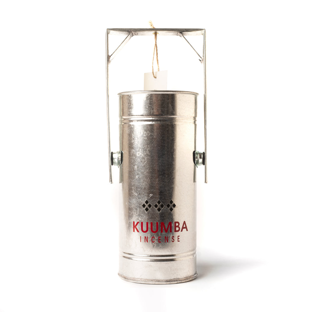 Metal Can Burner - Silver