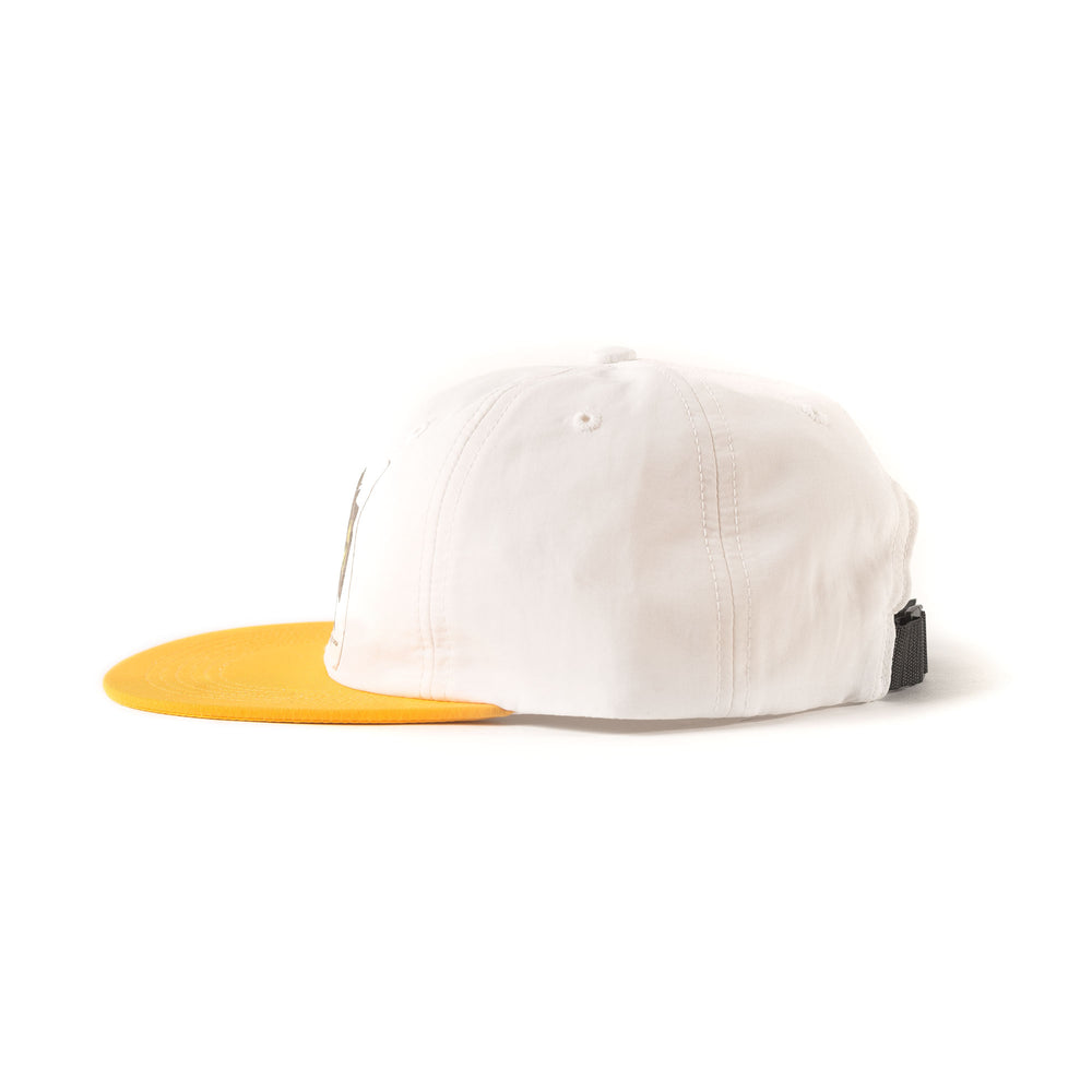 6 Panel Cap - Gold/Silver