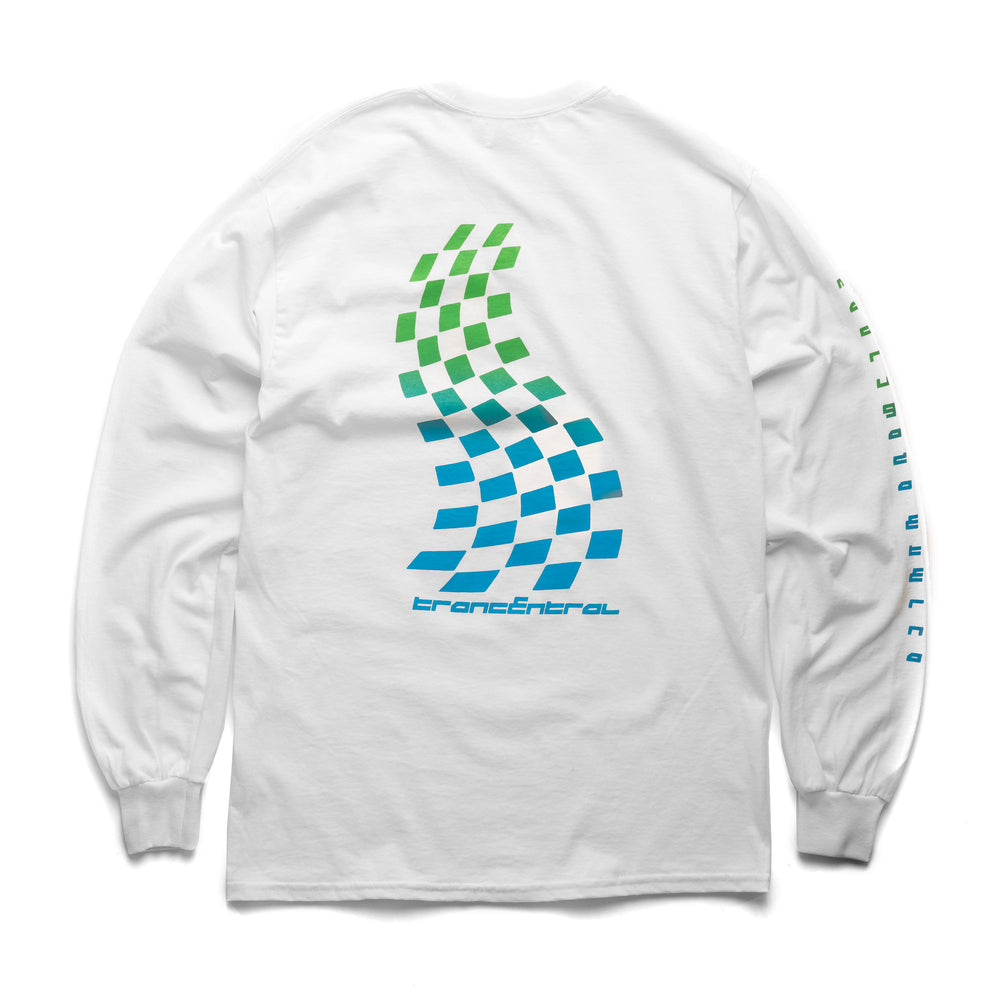 Trancentral Racing L/S T-Shirt - White