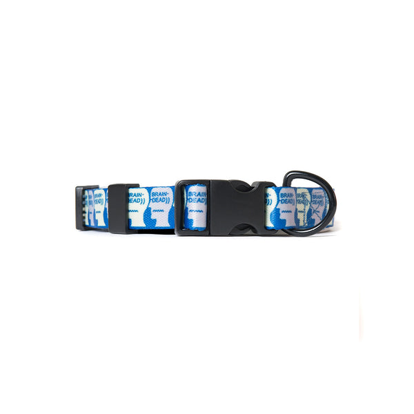 Logo Dog Collar - Blue