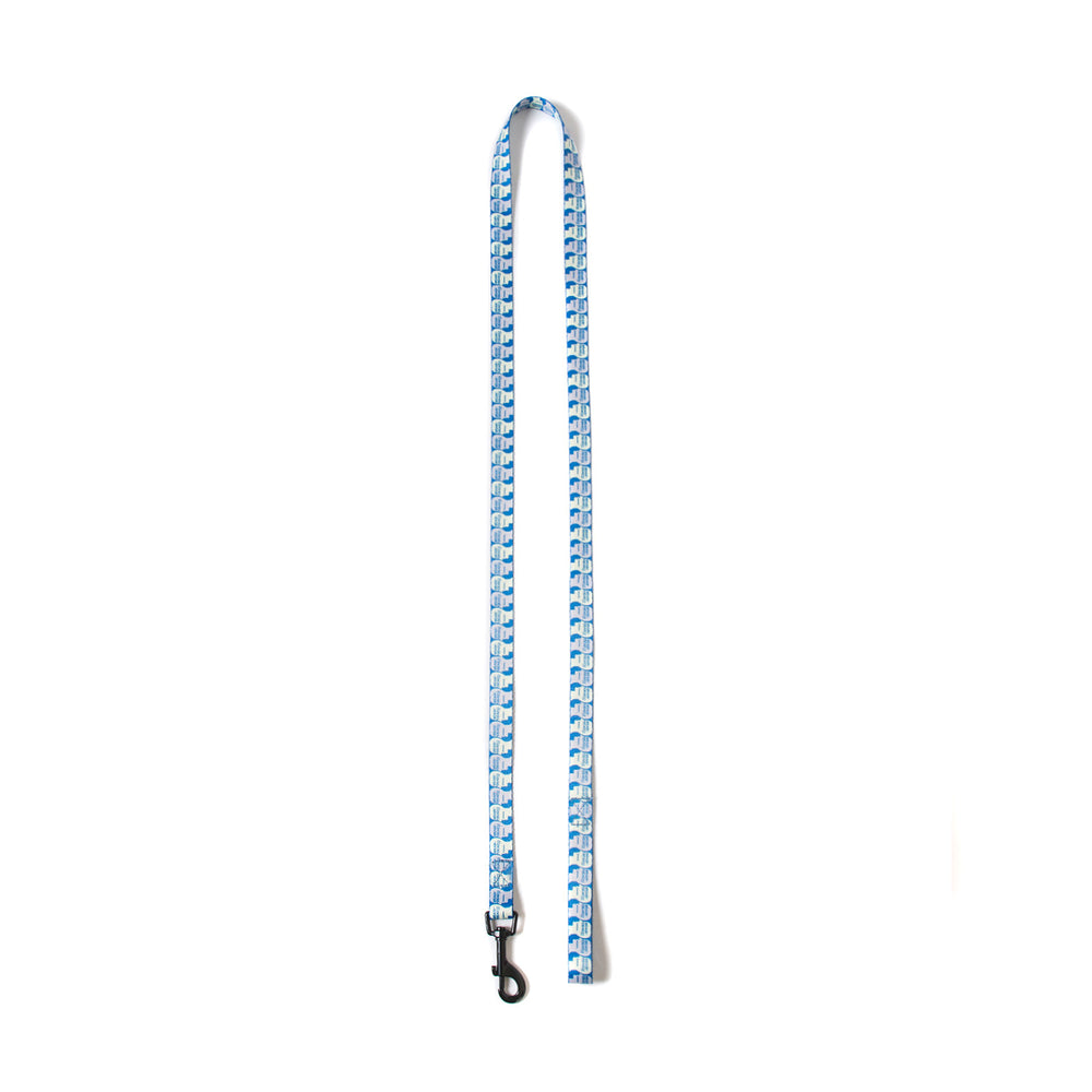 Logo Dog Leash - Blue