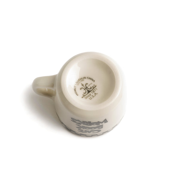 Cafe Book Works Coffee Cup - Cream