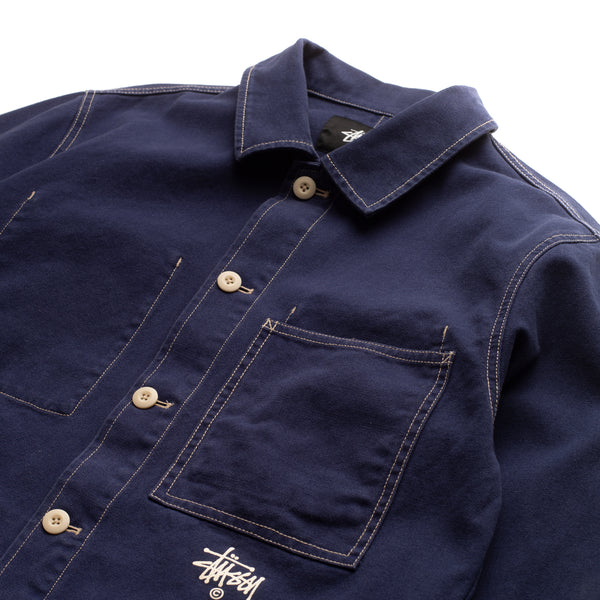 Canvas Shop Jacket - Navy