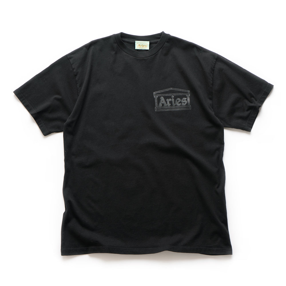 Basic Temple SS Tee - Black