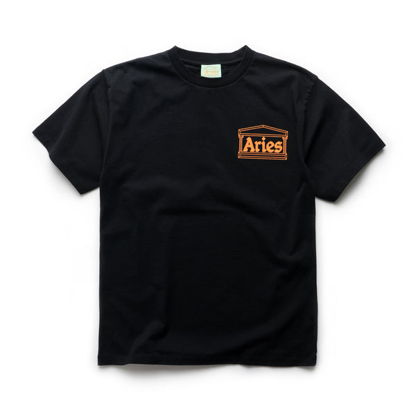 Classic Temple SS Tee - Black