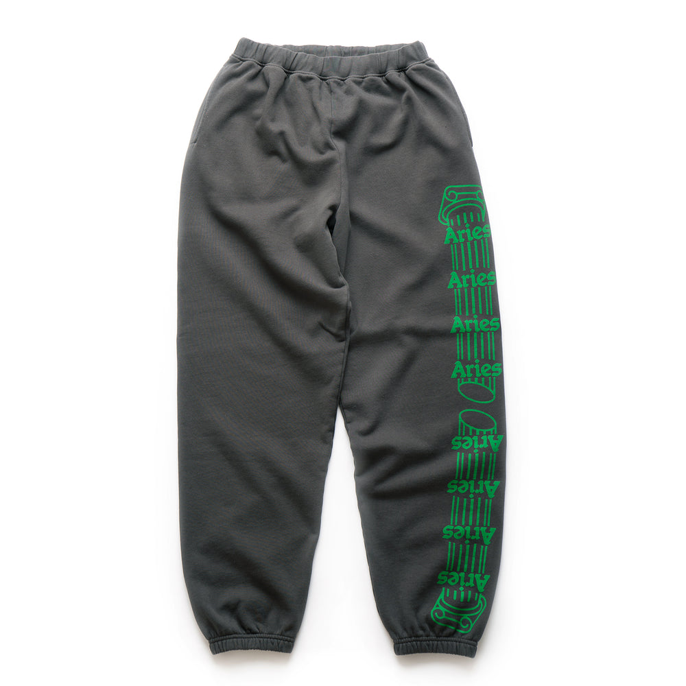 Column Sweatpants - Dark Grey/Green