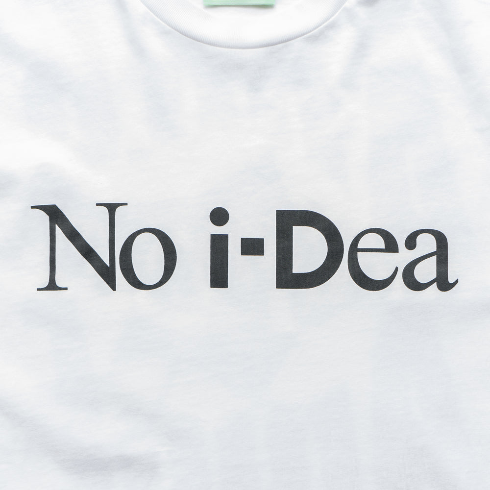 iD No iDea SS Tee - White