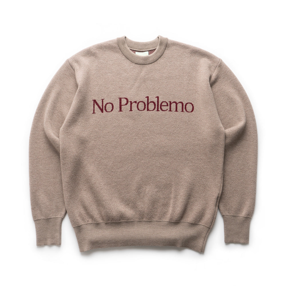 No Problemo Knit Jumper - Beige