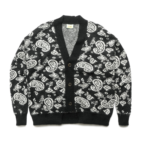 Paisley Cardigan - Black