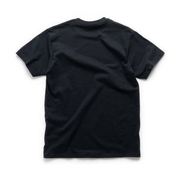 Blue Eyes Tee - Black