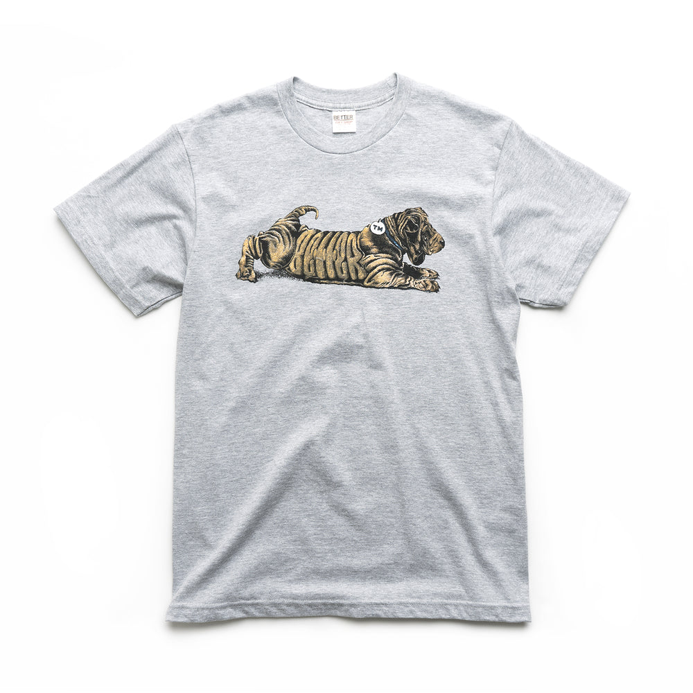 Dog Tee - Heather Grey
