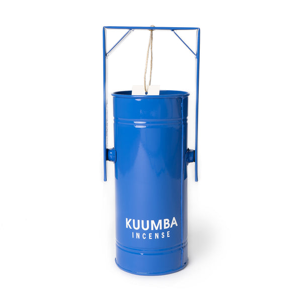 Kuumba Incense Burner Can - Blue