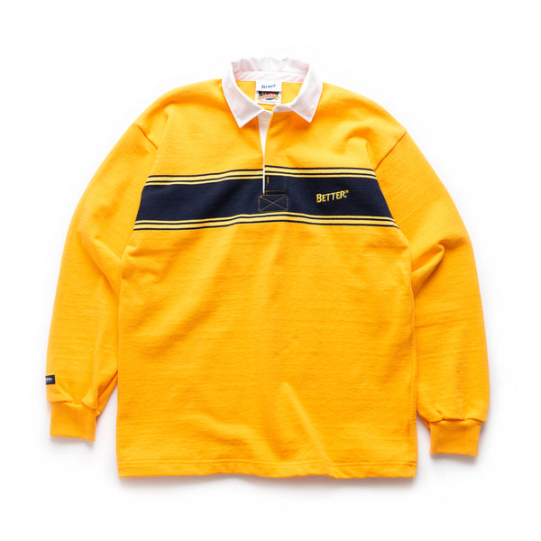 Stripe Rugby - Orange