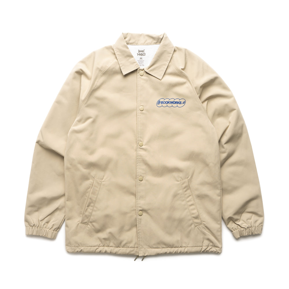 Note To Self Coaches Jacket - Khaki