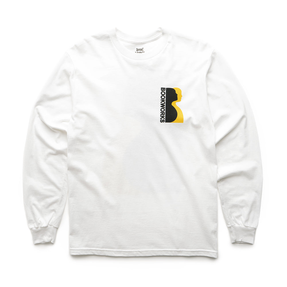 Profile Long Sleeve Tee - White