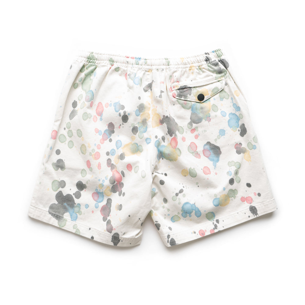 Beach Shorts - Splatter Dye