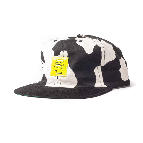 Cow Hat 5 Panel - Cow/Black