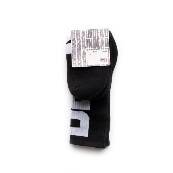 Vertical Type Socks - Black