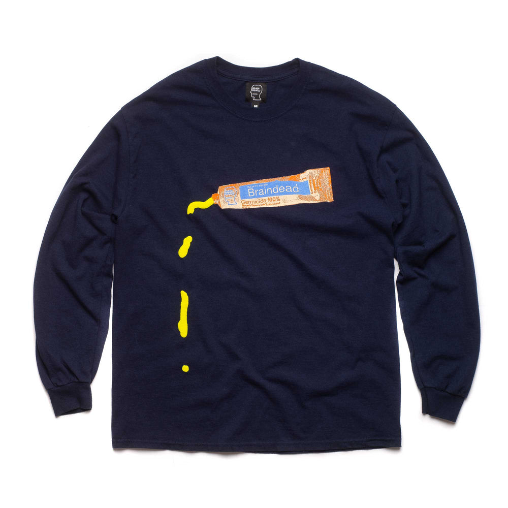 Ooze Long Sleeve - Navy