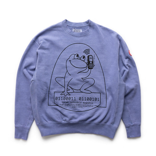 Overdye Easily Comfortable Crewneck - Blue