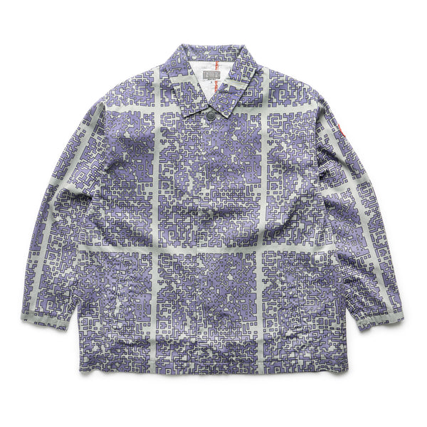 Short Button Up Coat - Multi