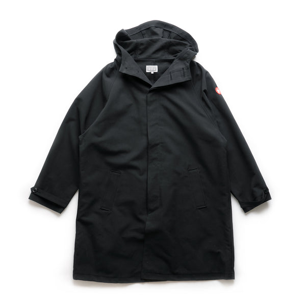 Hooded Coat - Black