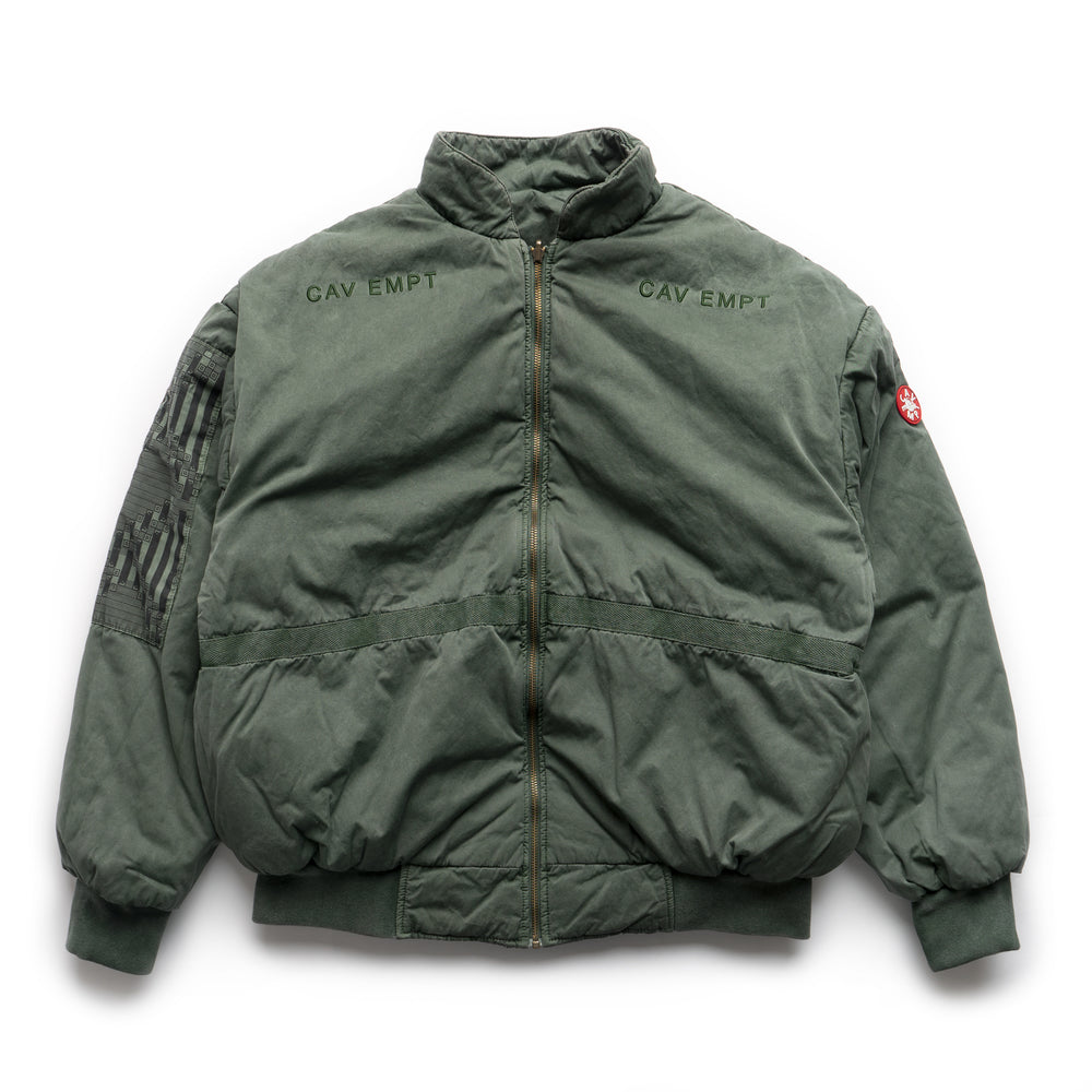 Overdye Rev Zip Jacket - Green