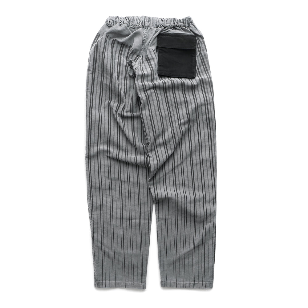 Stripe Beach Pants - Grey/Black