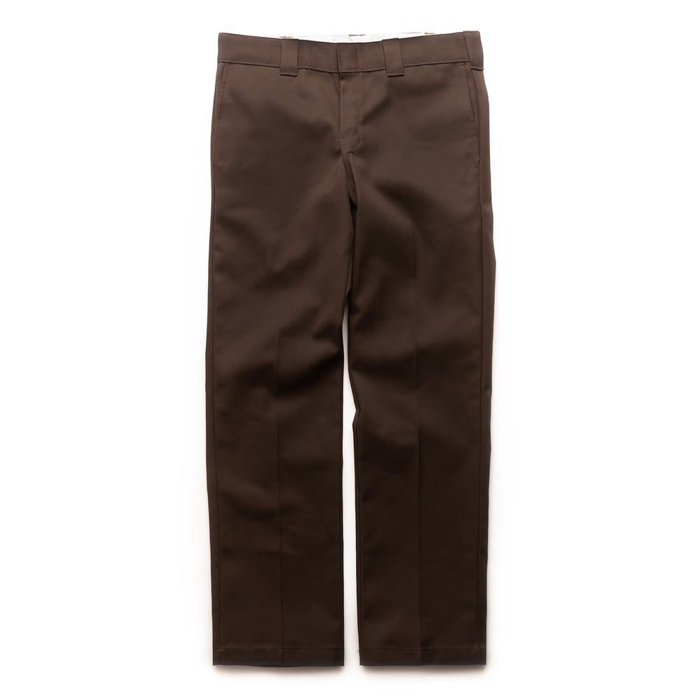 873 Slim Straight Work Pant - Chocolate Brown