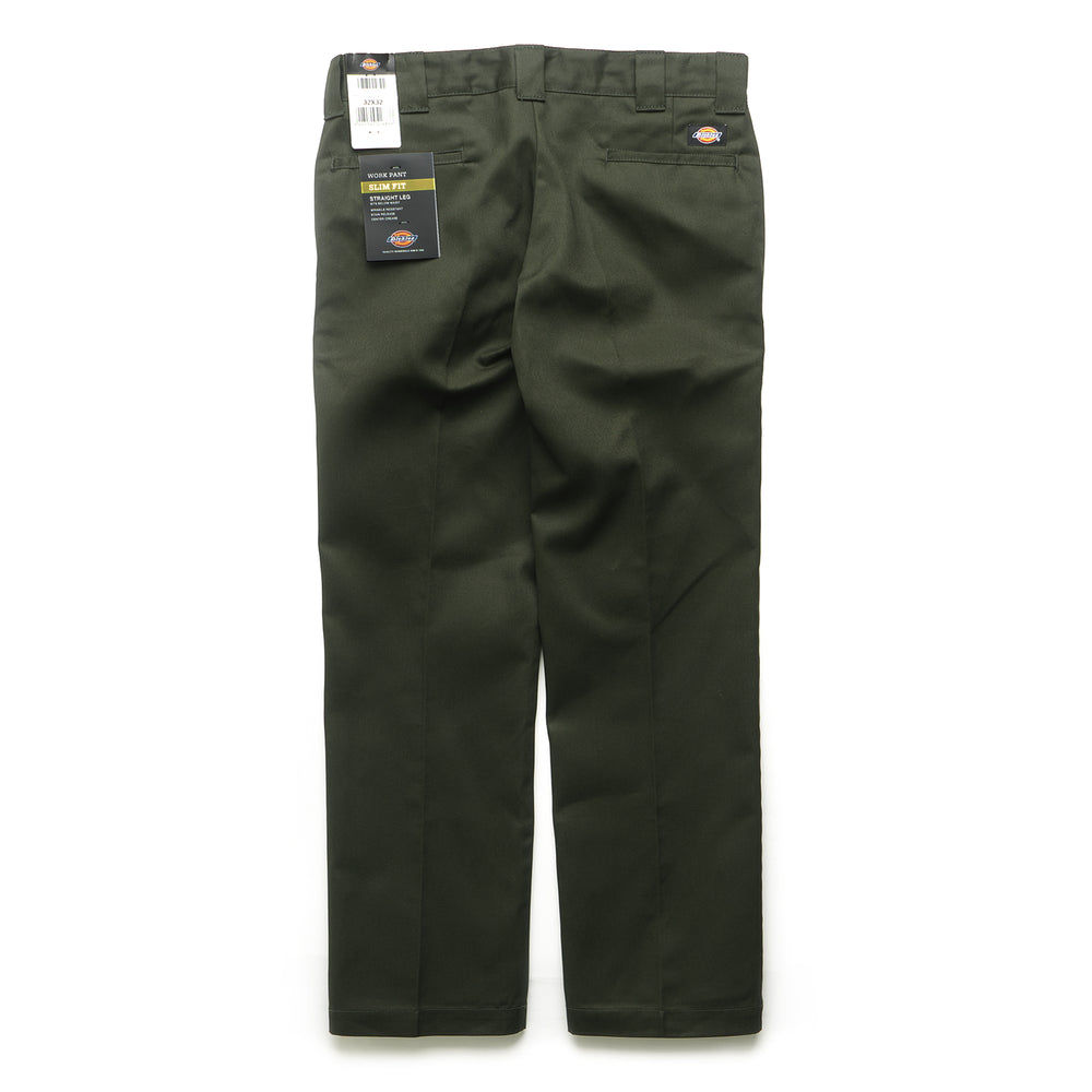 873 Slim Straight Work Pant - Olive Green