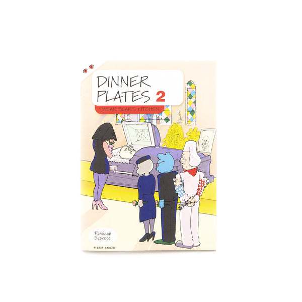 Dinner Plates 2: Swear Bear's Kitchen By Stefan Sadler