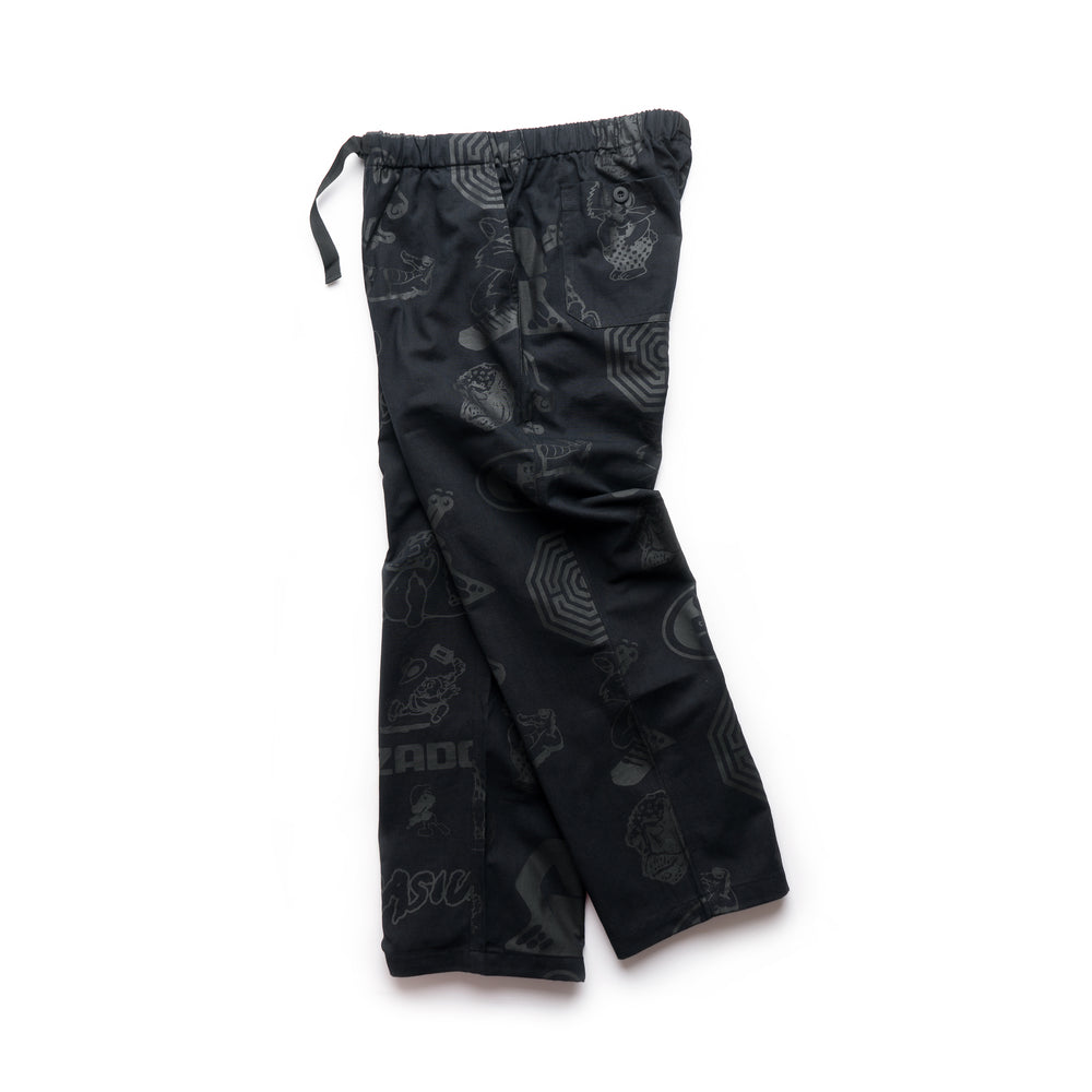 All Over Jehovah Pants - Black