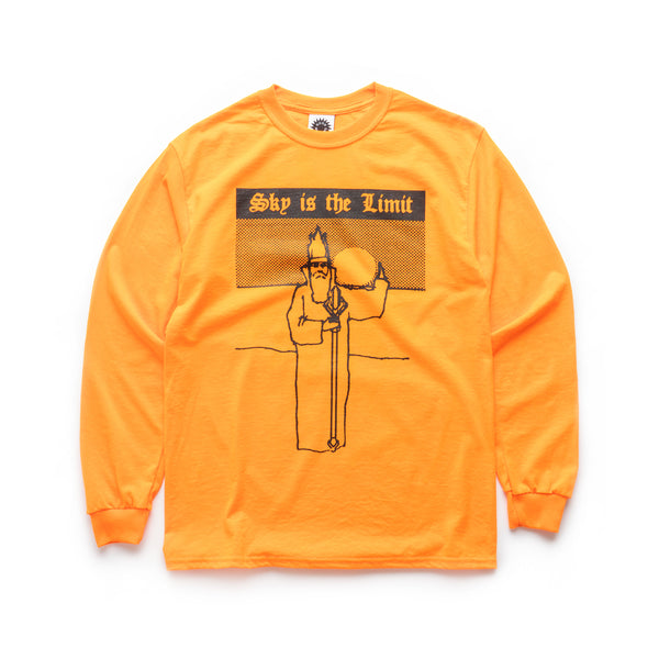 Sky Is The Limit LS Tee - Orange