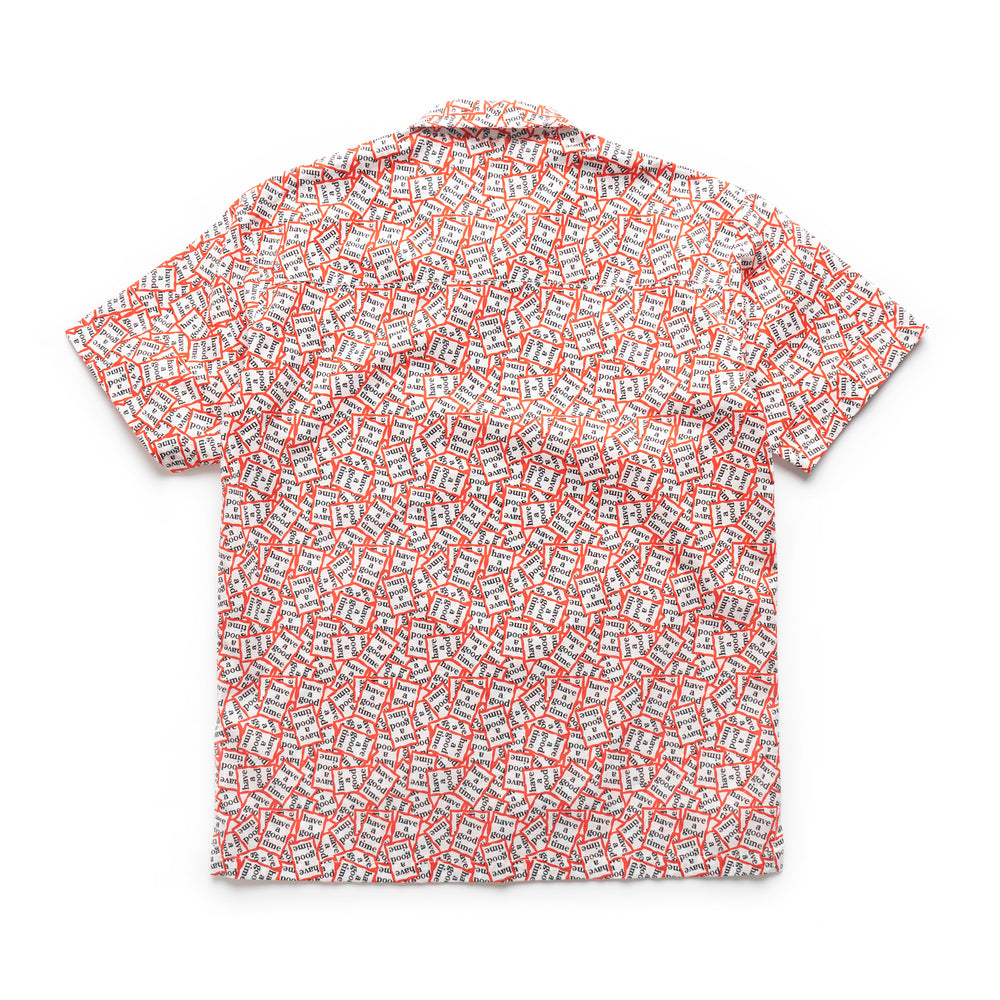 All Frame Pattern Aloha S/S Shirt - Multi