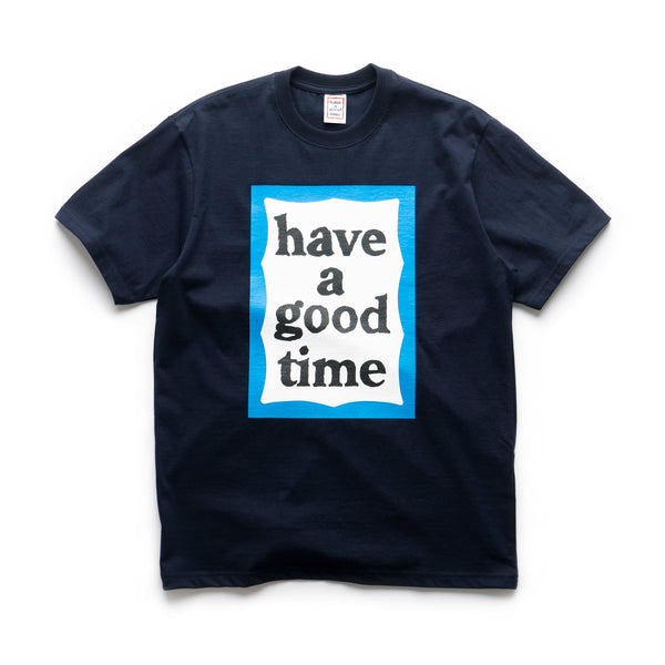 Big Blue Frame S/S Tee - Navy