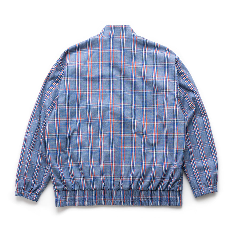 Check Jacket - Blue