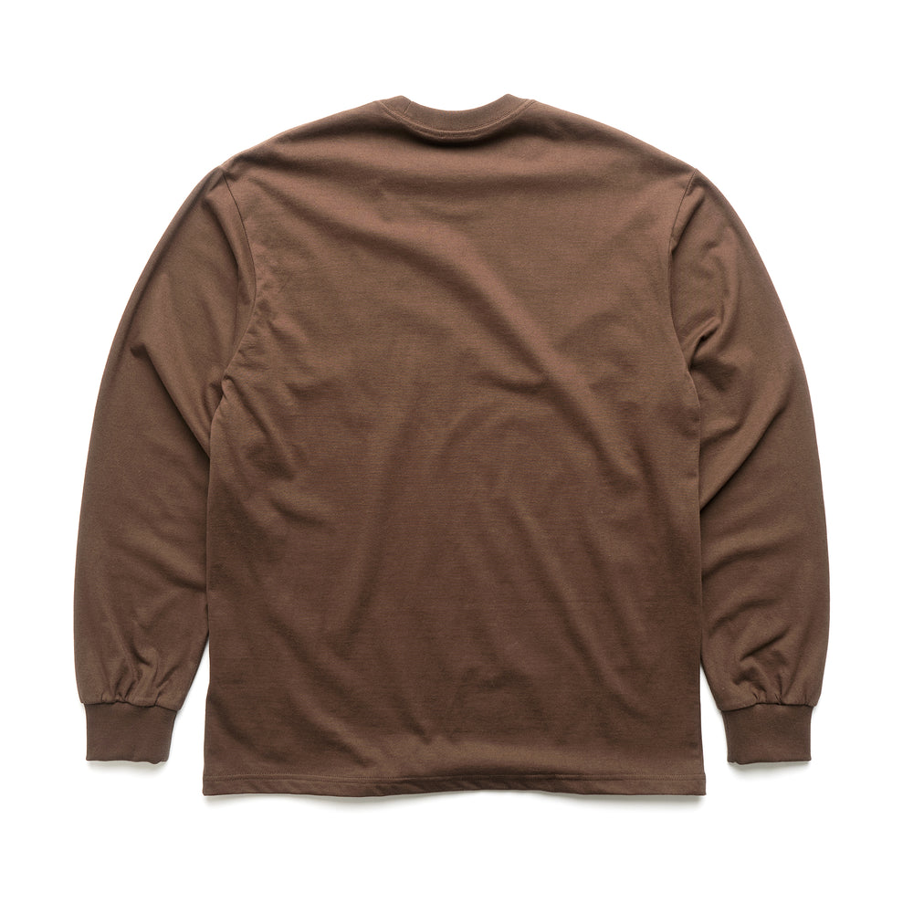 Frame L/S Tee - Chocolate