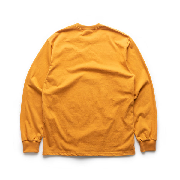 Blue Mini Frame L/S Tee - Wood