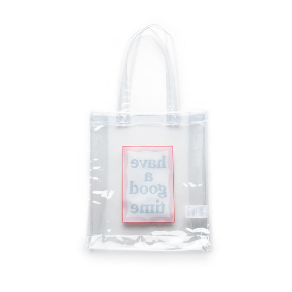 PVC Frame Tote - Clear