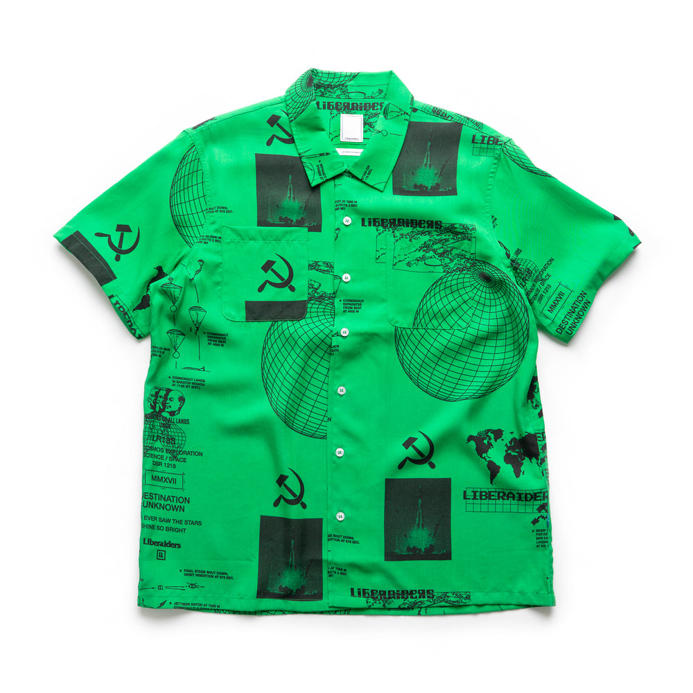 Space Race Shirt - Green