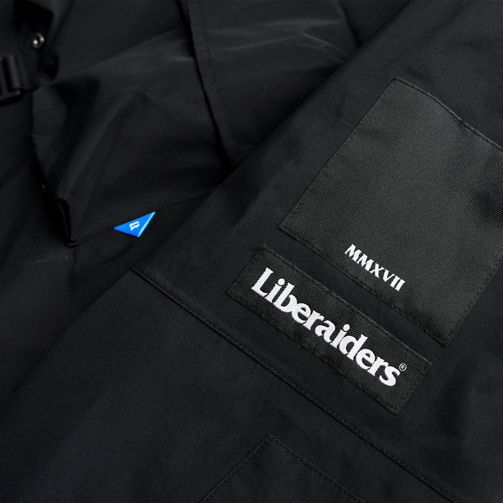 Transport 3 Layer Jacket - Black