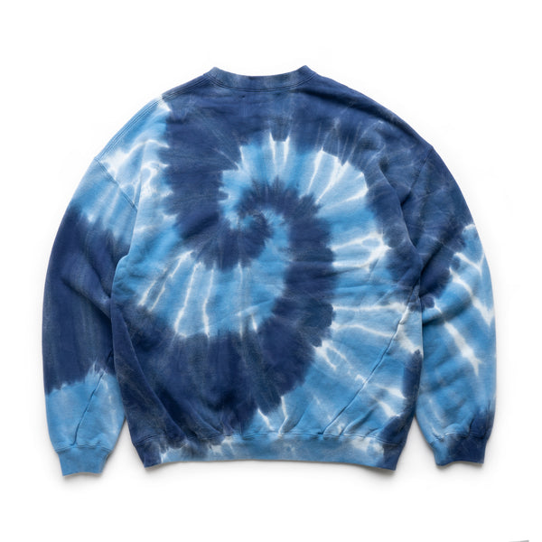 CS 01 Tie Dye Twisted Sweat - Navy/Blue