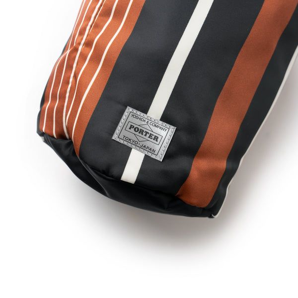 BG 01 Porter N Stripe Roll Bag (Big) - Brown/Black