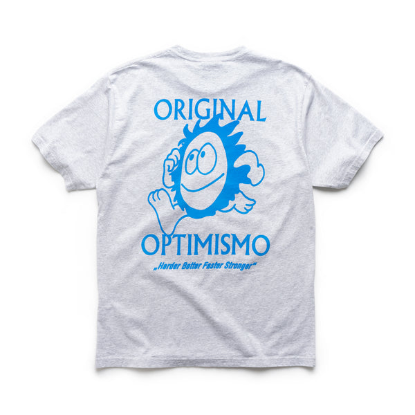Optimismo T-Shirt - Heather Grey